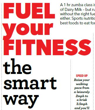 Fuel Your Fitness, Healthy Food Guide June 2015