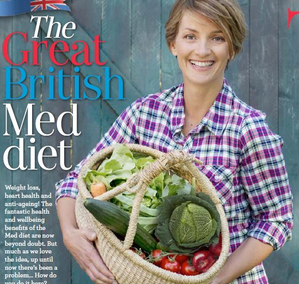 Great British Med Diet, GH June 2014
