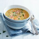 Red Lentil and Vegetable Soup