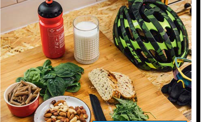 Vegetarian Diets, Cycling Weekly Nov 2016