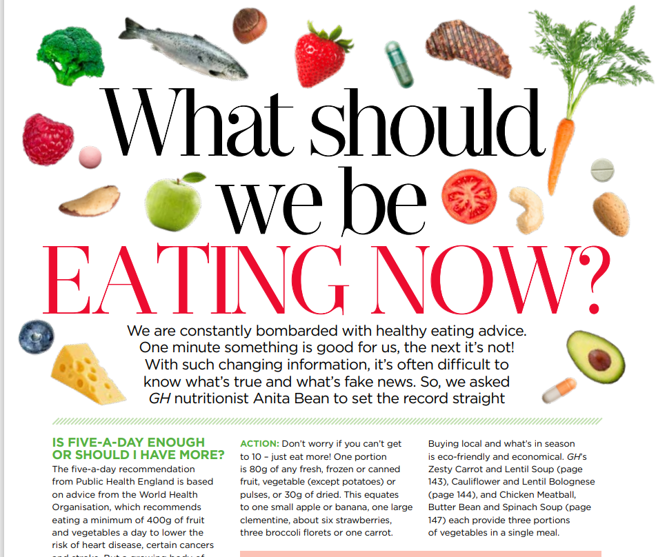 What Should We Be Eating Now?, Good Housekeeping, Feb 2021