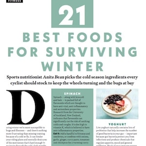21 Best Foods for Surviving Winter, Cycling Weekly Dec 2018