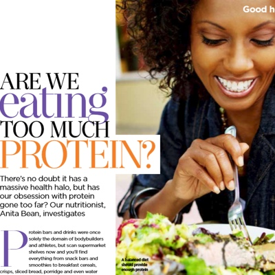 Are We Eating Too Much Protein? Good Housekeeping, September 2019