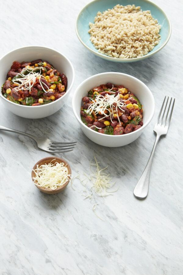 Easy Vegetarian Chilli